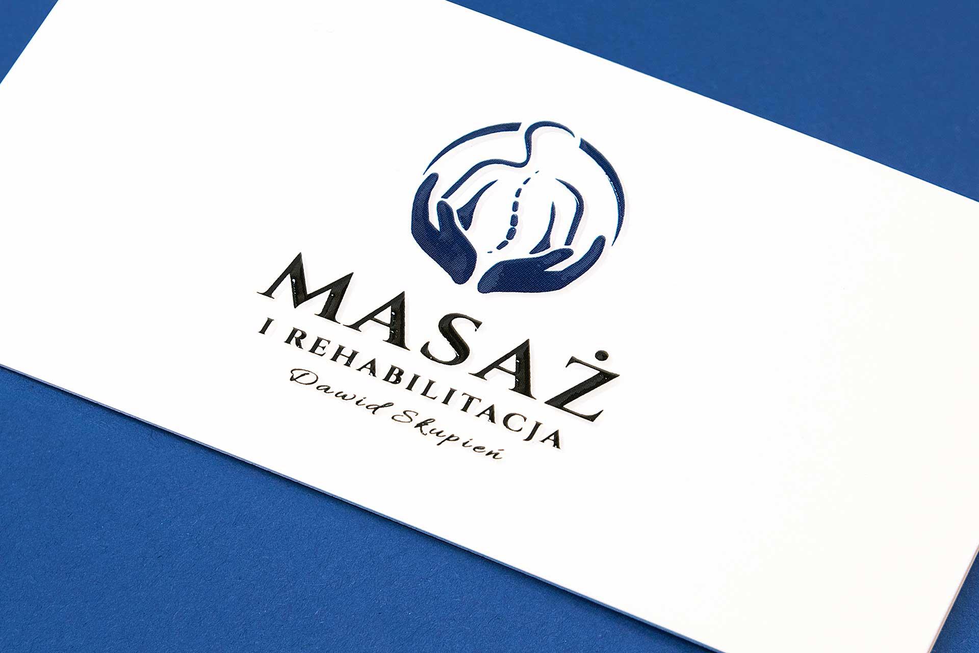 Logo Masaż i Rehabilitacja Dawid Skupień