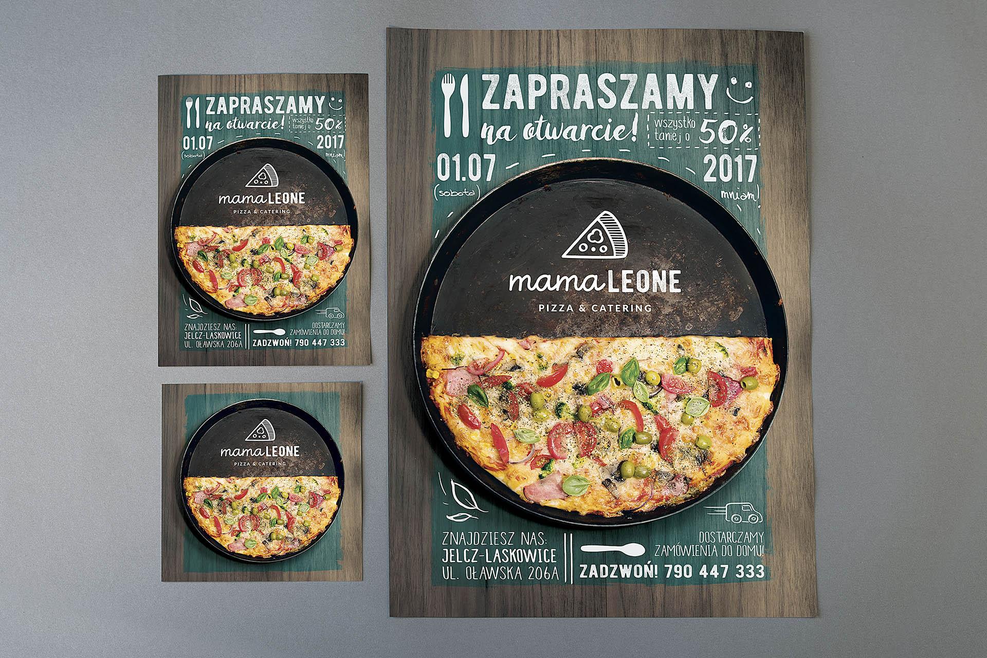 Pizzeria Mamaleone plakaty