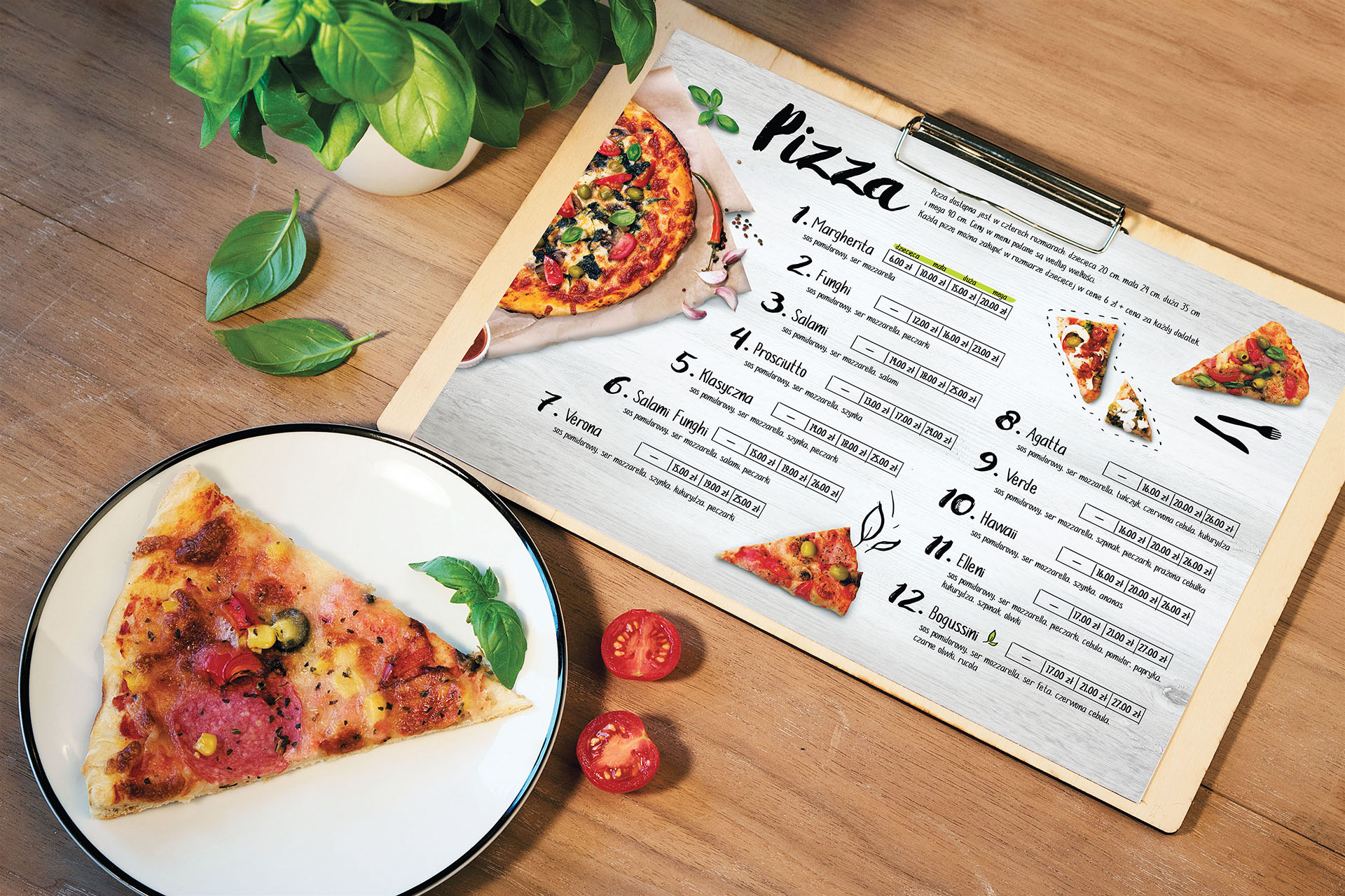 Mamaleone pizza i menu