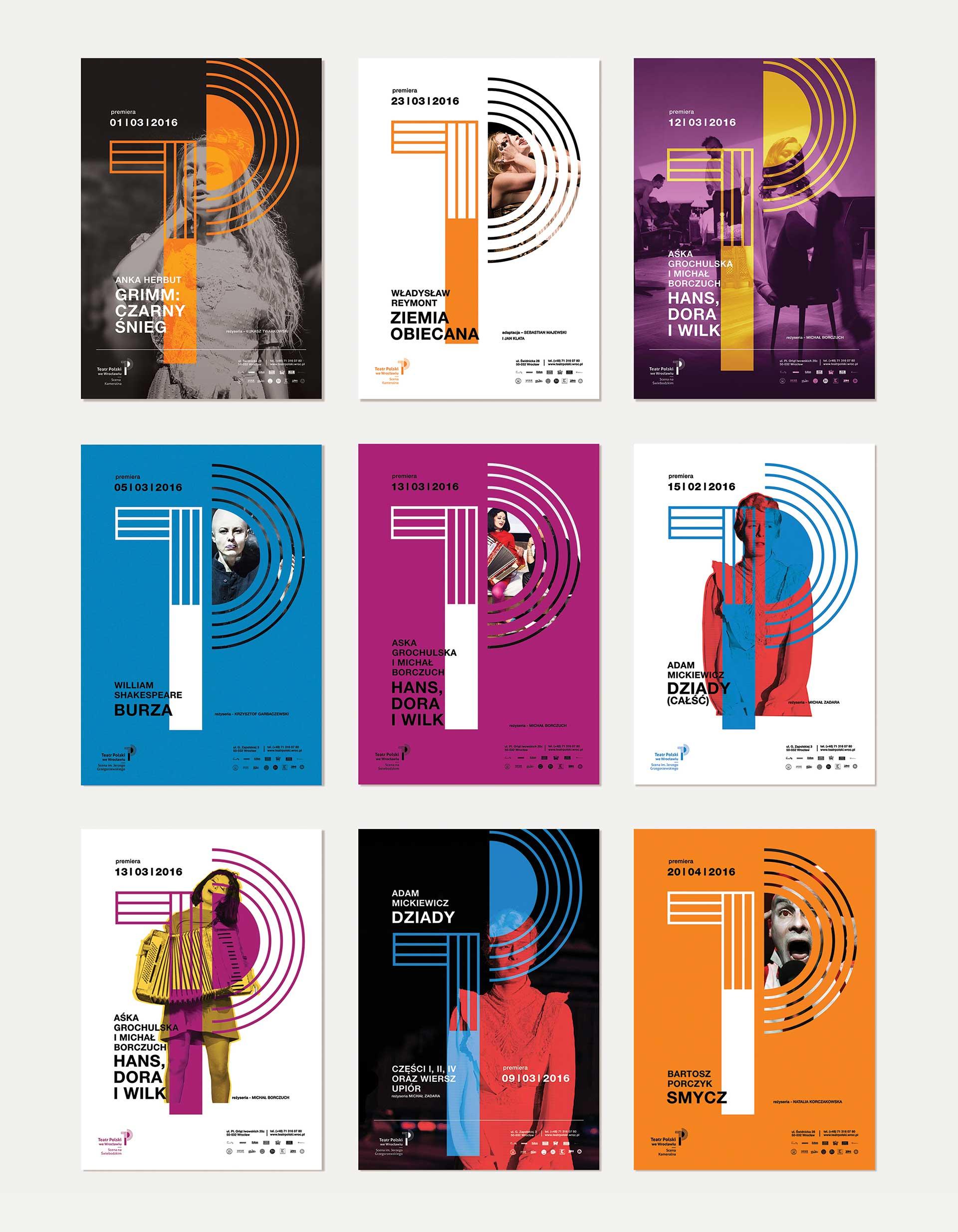 Plakaty Teatr Polski we Wrocławiu